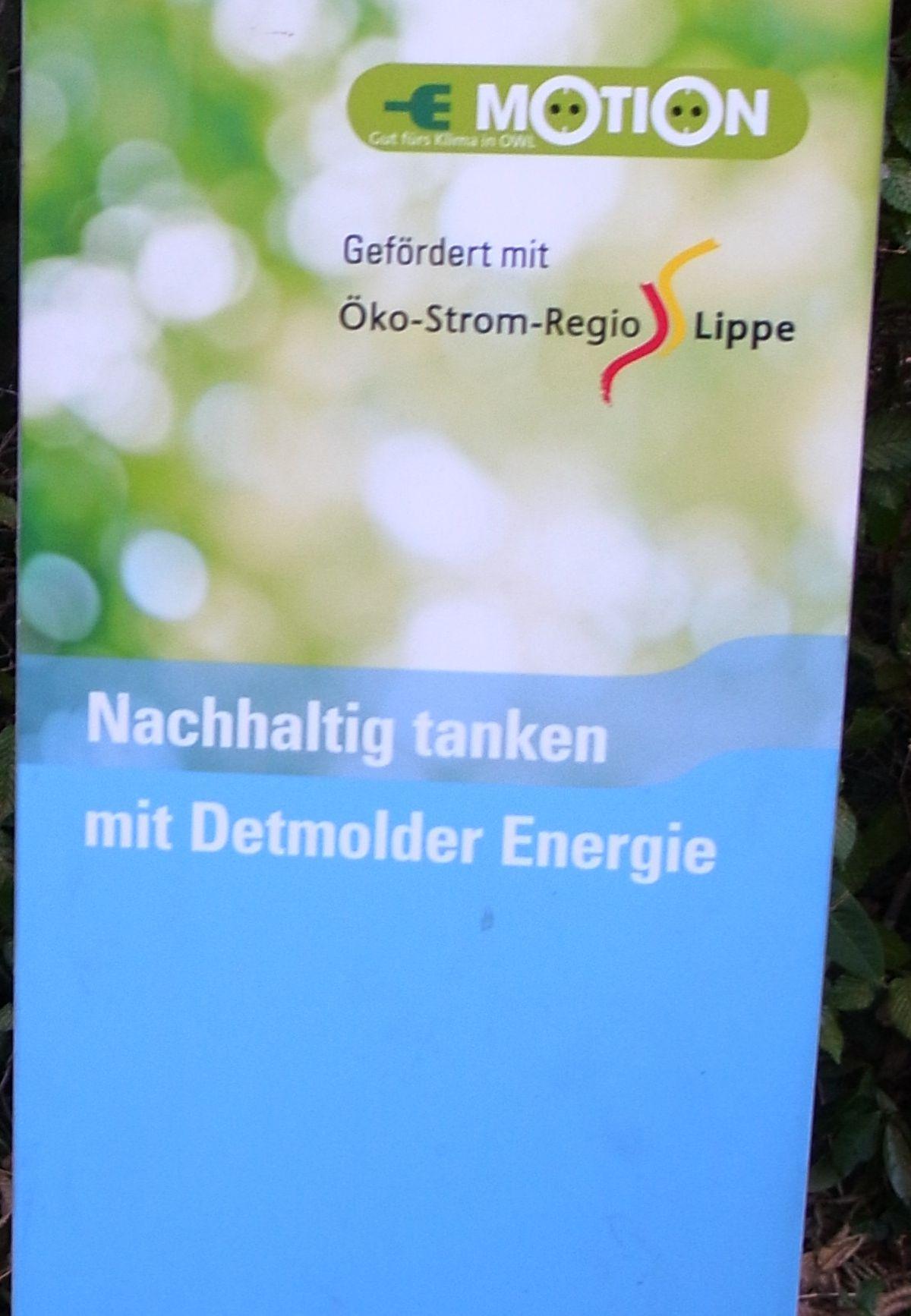 Strom-Tankstelle