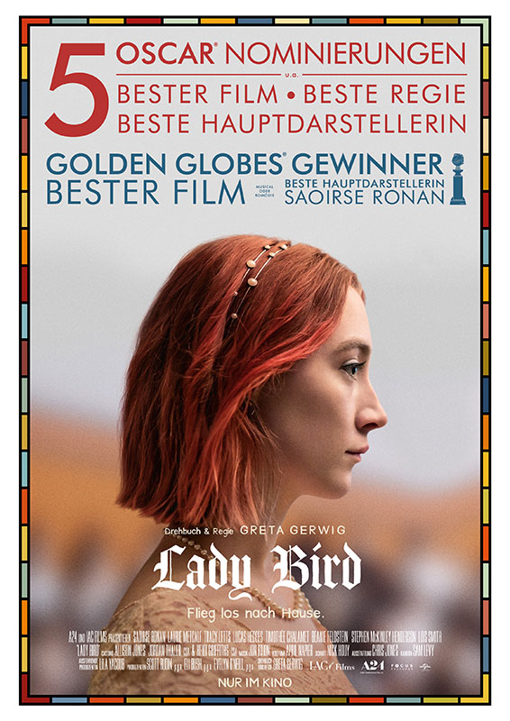 Plakat Lady Bird